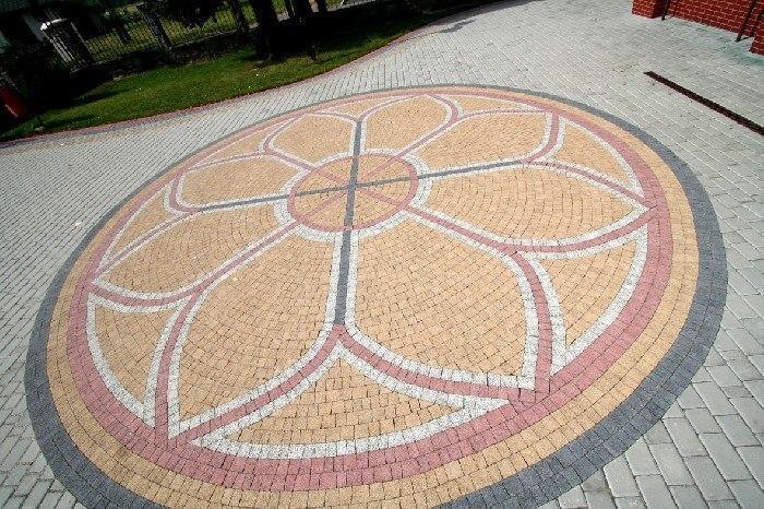 OsMyAGs032s - Тротуарная плитка (брусчатка)