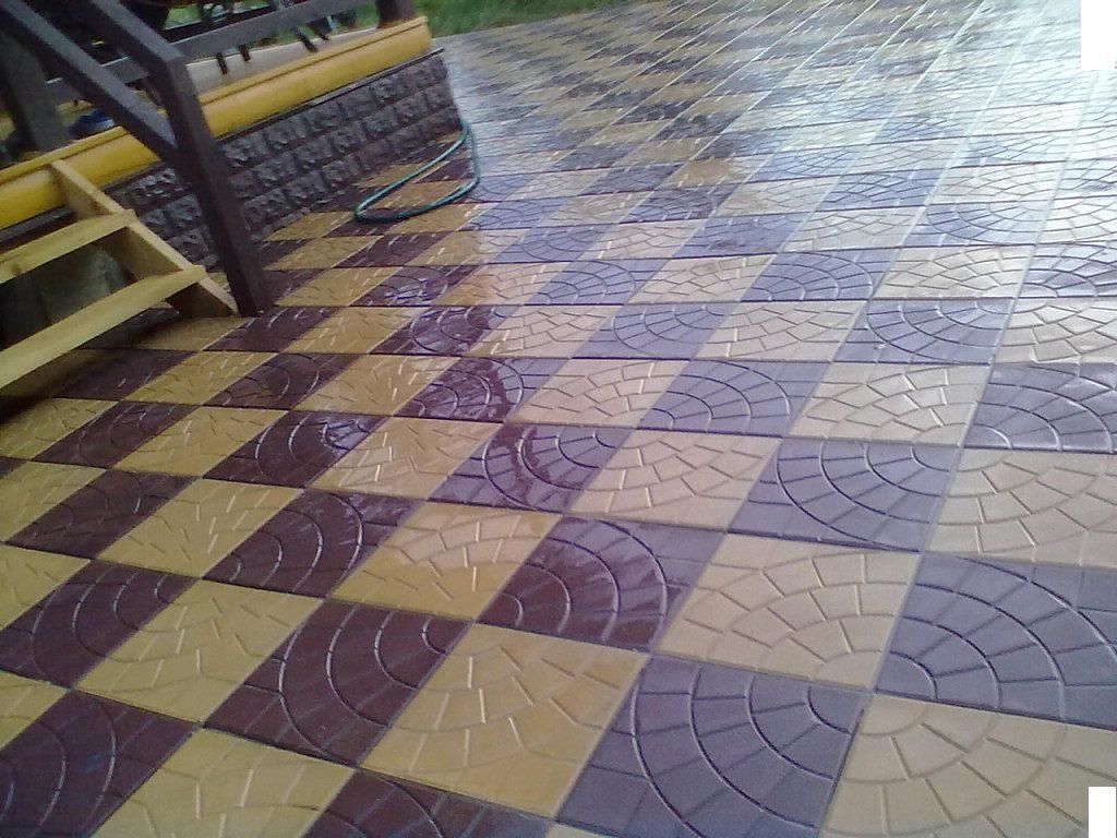 тротуарная плитка паутинка
